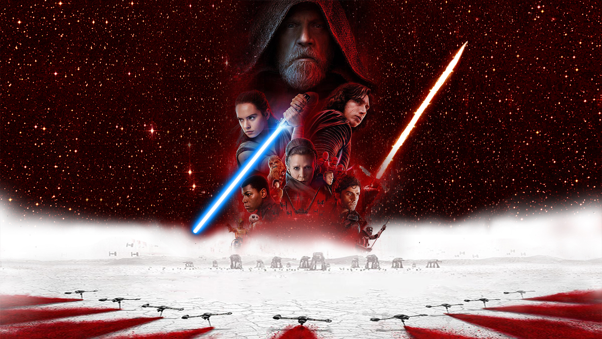 Star Wars The Last Jedi Wallpaper By The Dark Mamba 995 On Deviantart