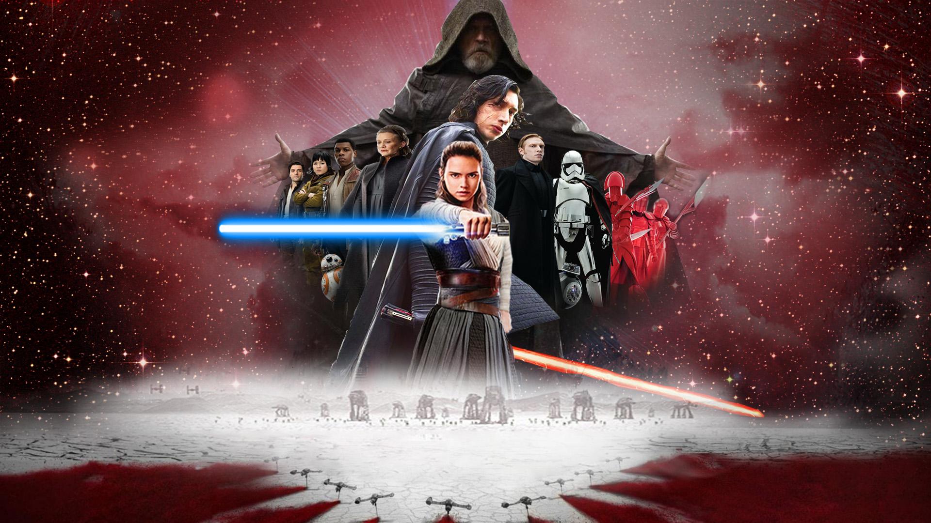 Star Wars Last Jedi Wallpaper: Star Wars: The Last Jedi Wallpaper By The-Dark-Mamba-995