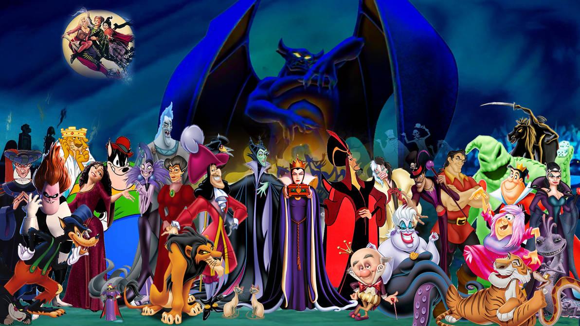 Disney Villains Wallpaper By Thekingblader995 On Deviantart