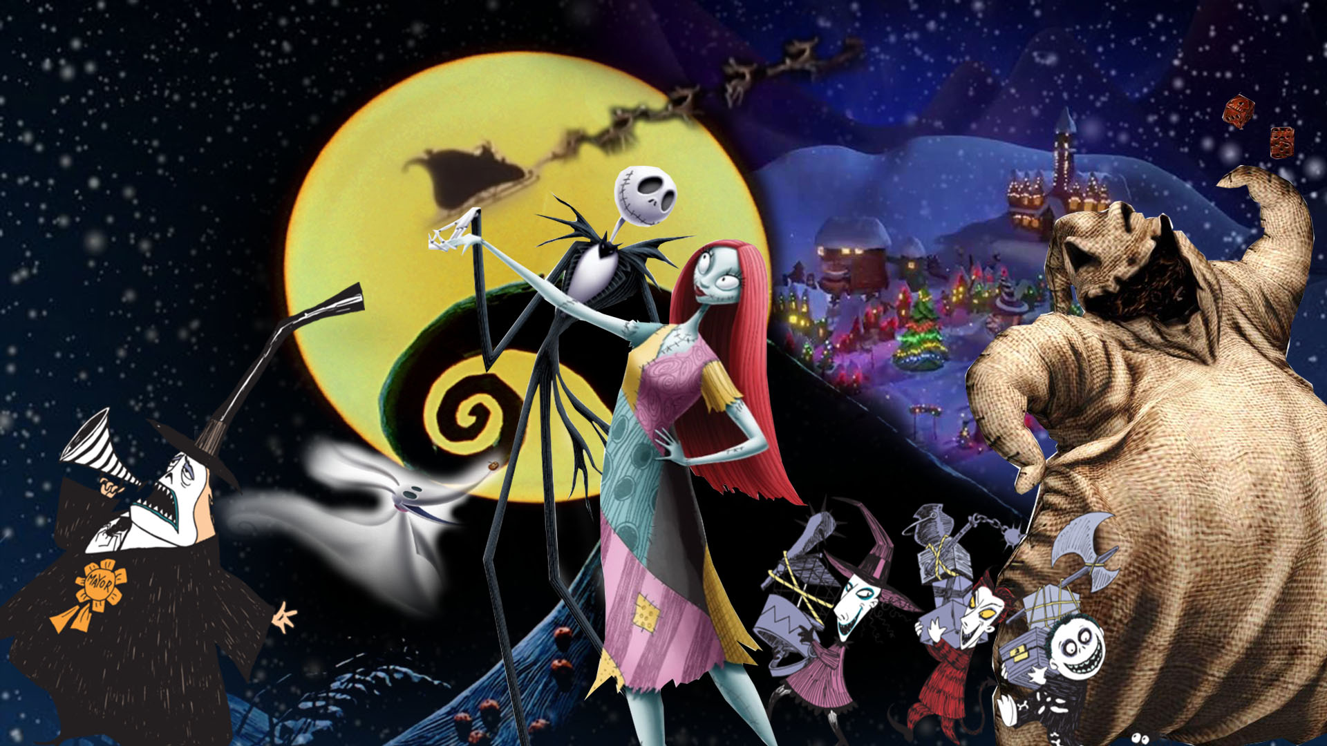 The Nightmare Before Christmas Wallpaper By The Dark Mamba 995 On
