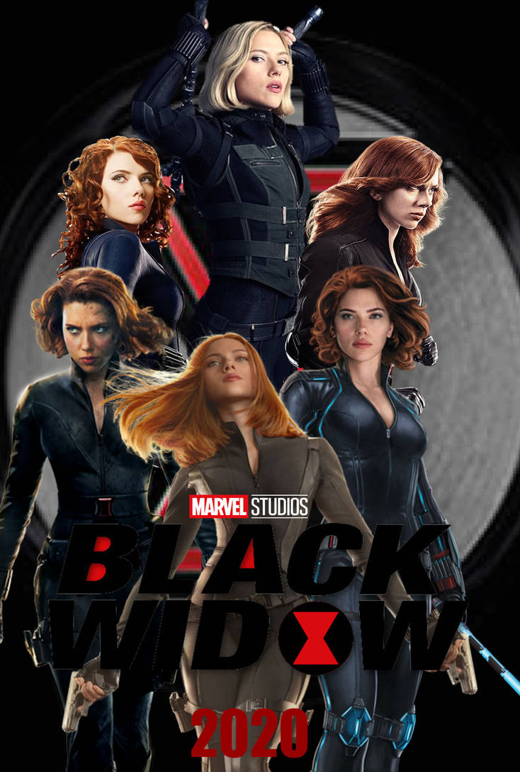 Black Widow (2020) Poster concept by The-Dark-Mamba-995 on
