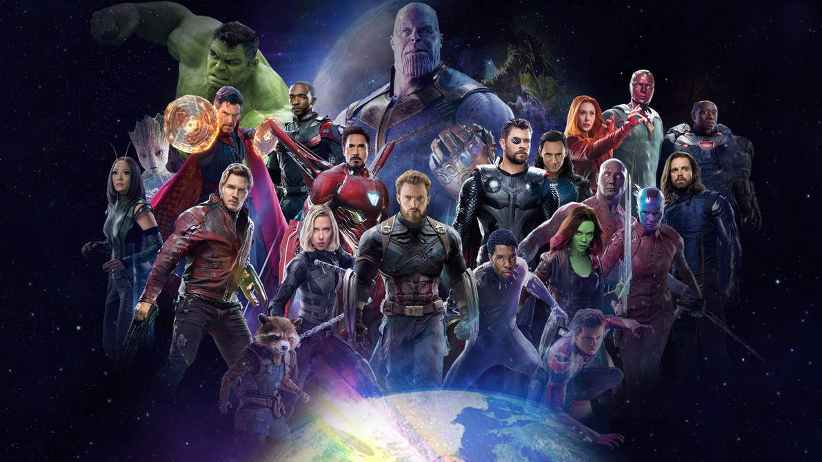 Avengers: Infinity War Wallpaper by The-Dark-Mamba-995 ...
