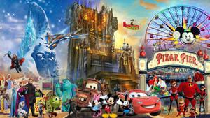 Disney California Adventure Wallpaper