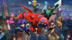 Big Hero 6 Wallpaper by The-Dark-Mamba-995