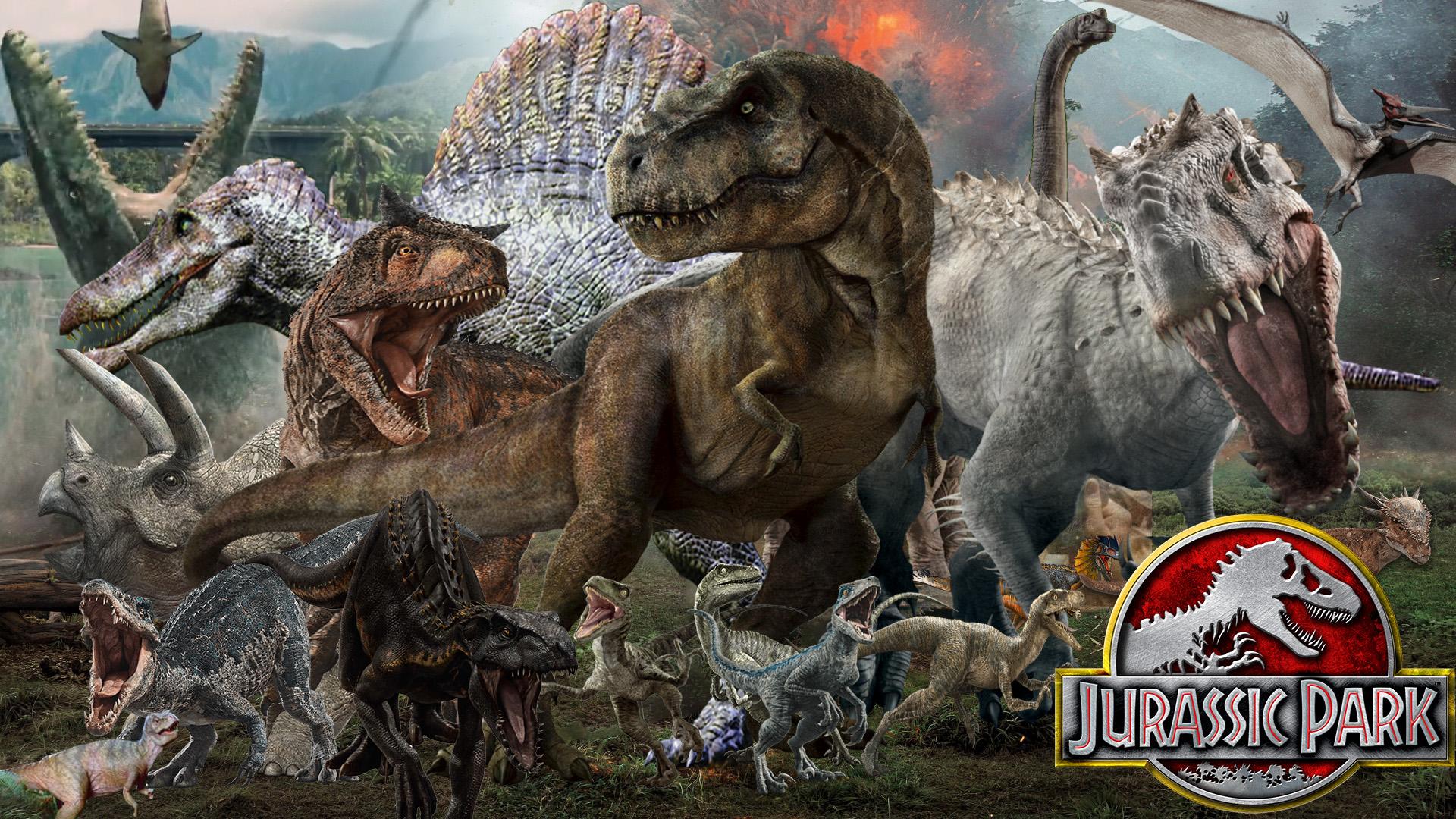 Jurassic Park: Series Wallpaper by The-Dark-Mamba-995 on ...