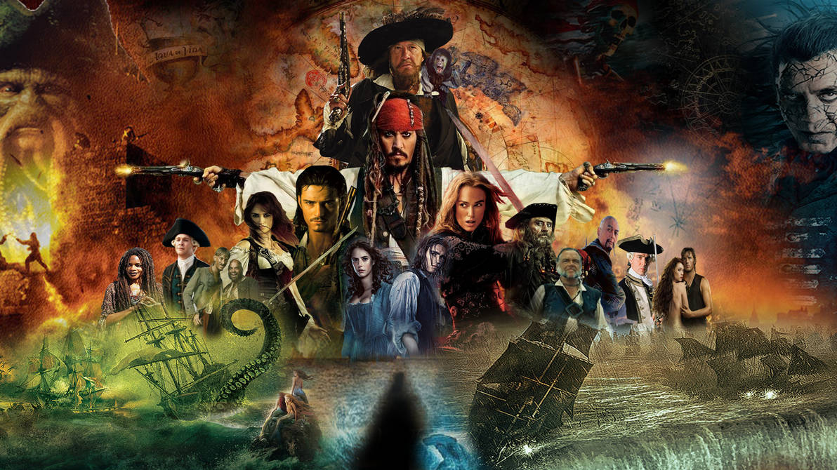 Pirates Of The Caribbean Wallpaper By The Dark Mamba 995 On Deviantart