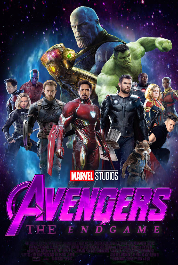 Avengers 4 The Endgame Poster Concept By The Dark Mamba 995 On