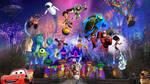 Disneyland: Pixar Fest -Together Forever Fireworks