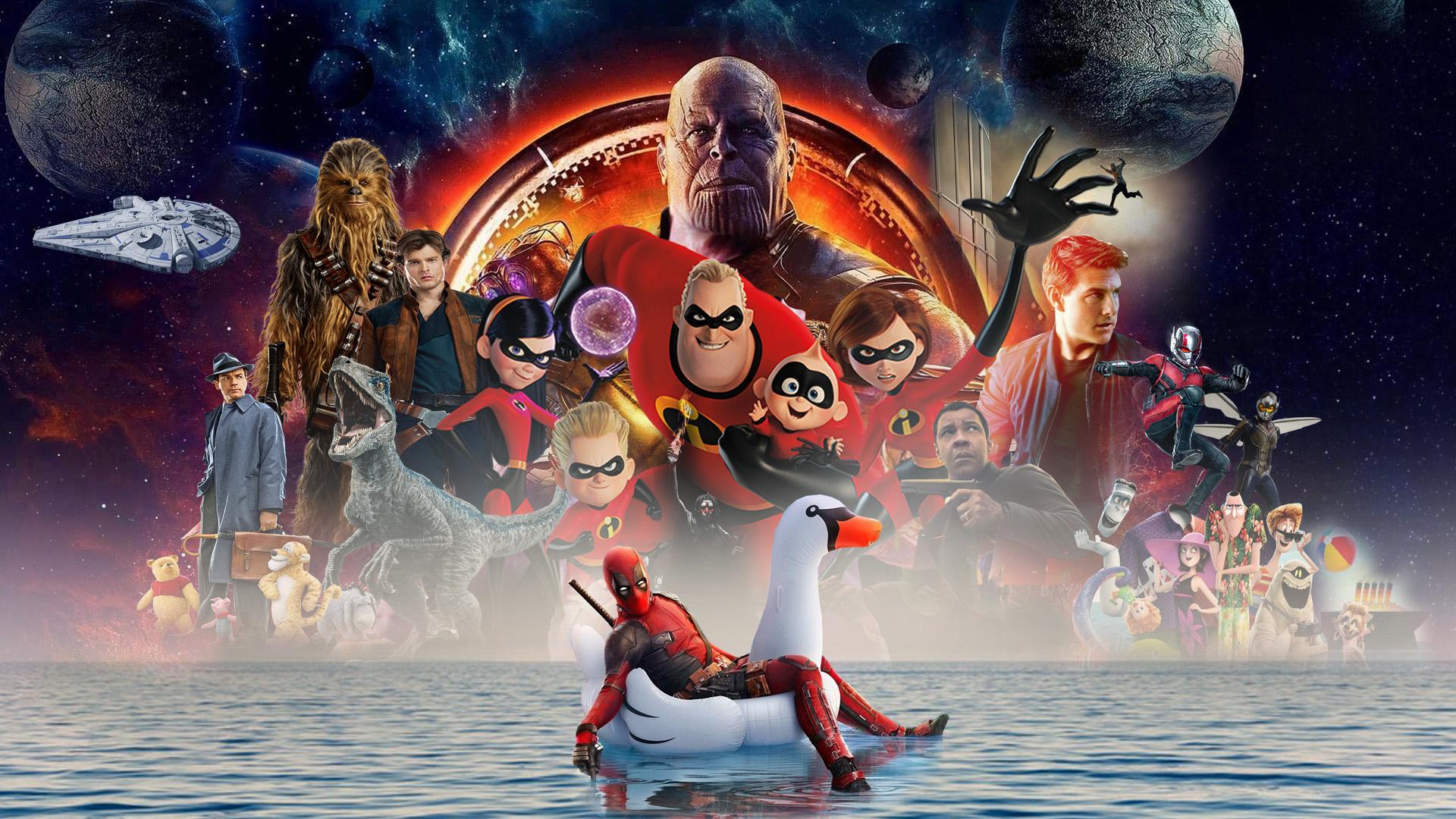 2018 Summer Movies Wallpaper By The Dark Mamba 995 On Deviantart