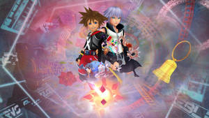 Kingdom Hearts: Dream Drop Distance Wallpaper