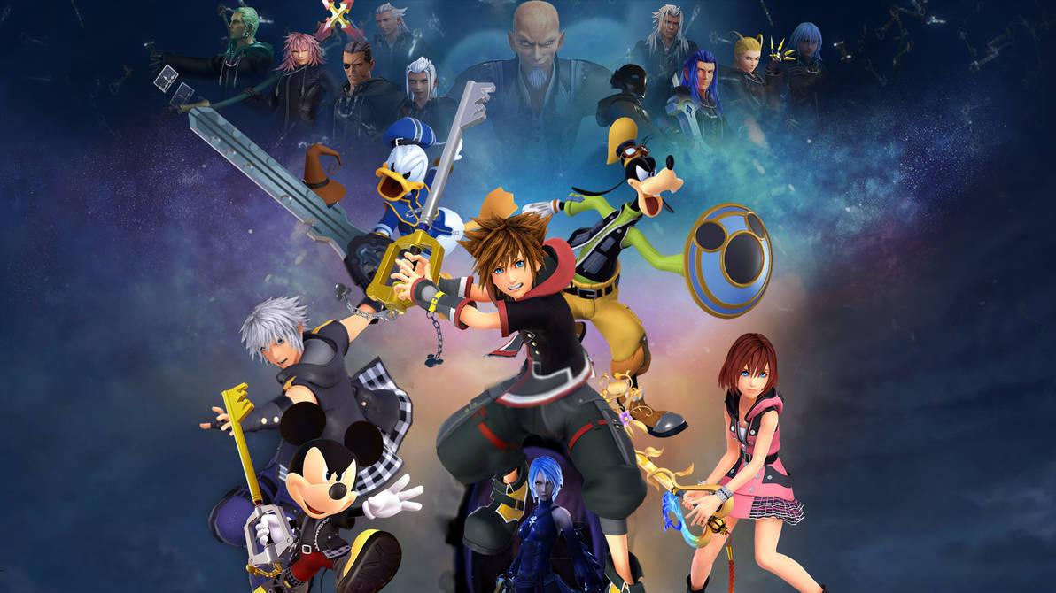 Kingdom Hearts Iii Wallpaper By The Dark Mamba 995 On Deviantart