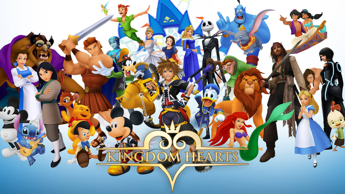 Kingdom Hearts: Disney Wallpaper by The-Dark-Mamba-995 ...