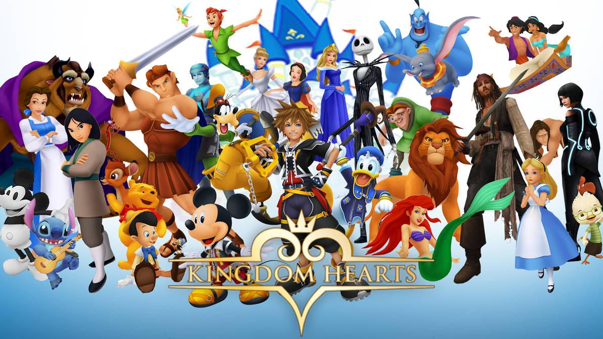 Kingdom Hearts Disney Wallpaper By The Dark Mamba 995 On Deviantart