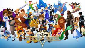 Kingdom Hearts: Disney Wallpaper