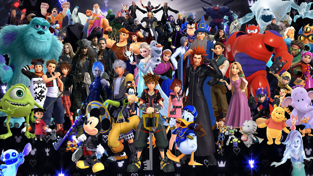 Kingdom Hearts III Characters: 3rd Edition by The-Dark-Mamba-995 on