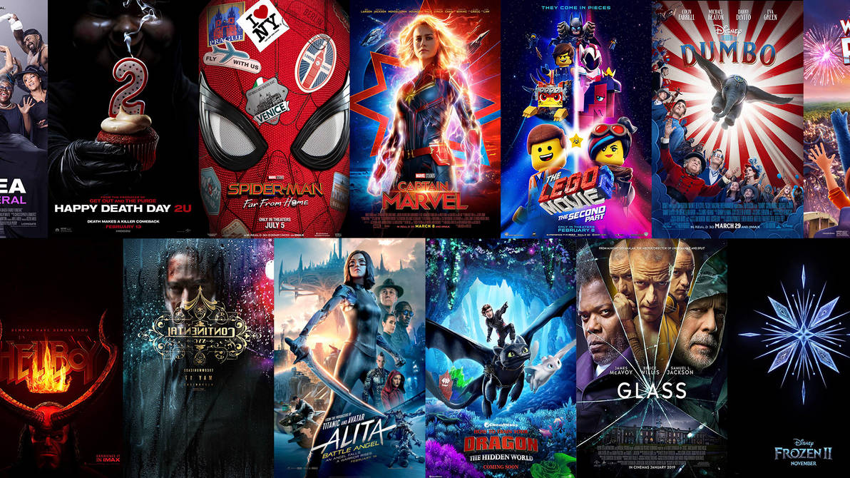 Movie Poster 2019: 2019 Movie Posters: 2nd Edition By The-Dark-Mamba-995 On