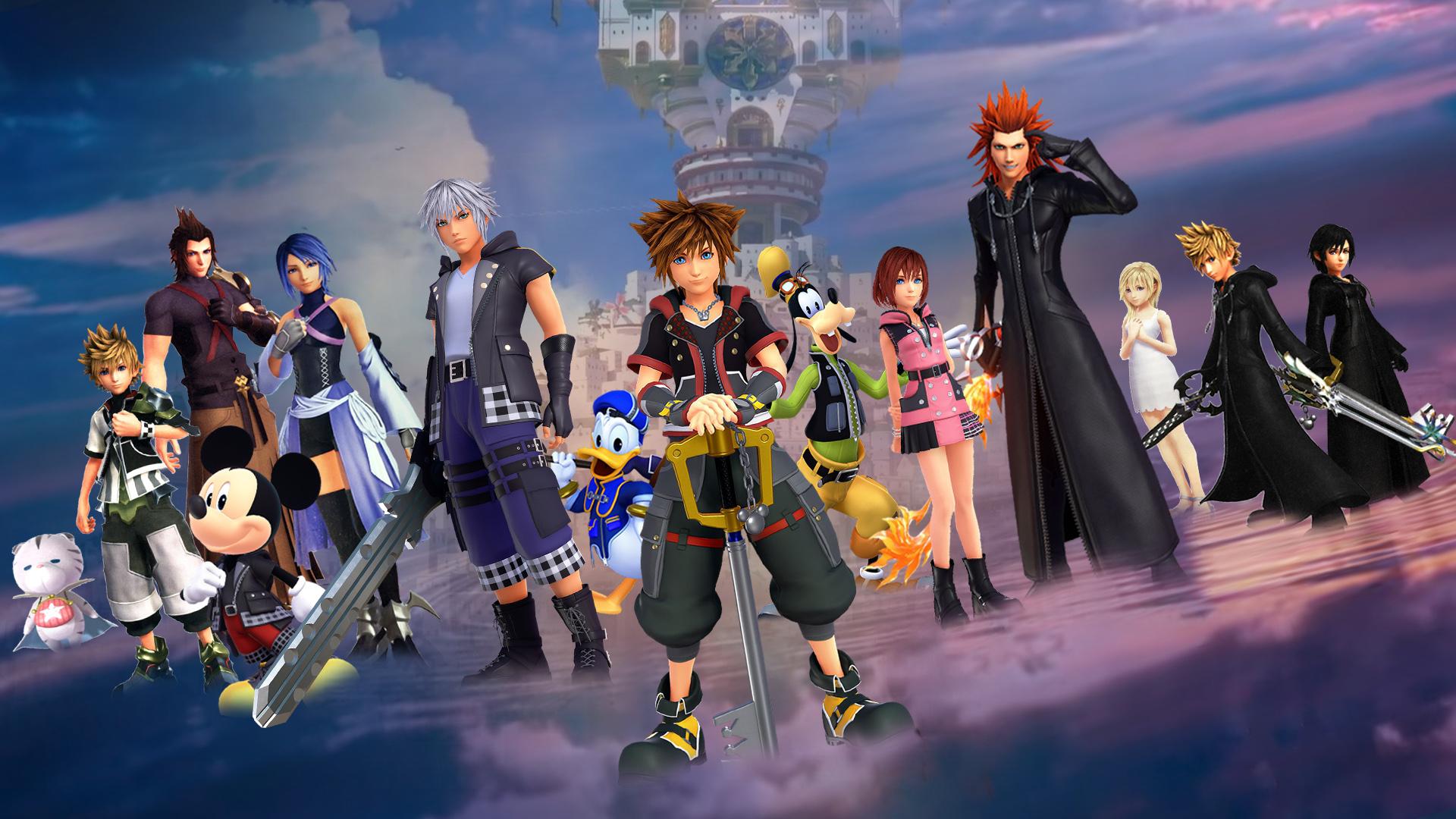 Kingdom Hearts Iii Wallpaper Heroes Of Light By The Dark Mamba
