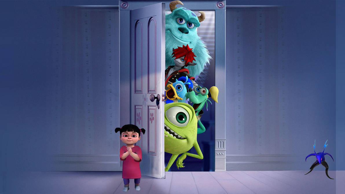 kingdom hearts iii monsters inc wallpaper by thekingblader995 on deviantart kingdom hearts iii monsters inc