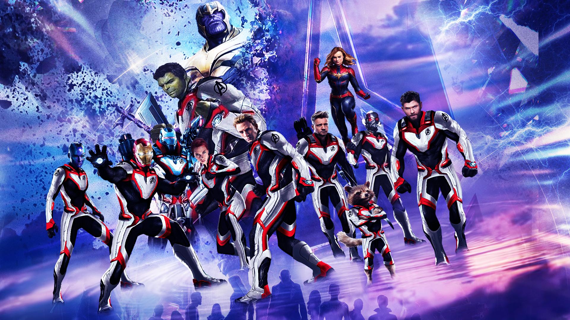 Avengers: Endgame Wallpaper by The-Dark-Mamba-995 on ...