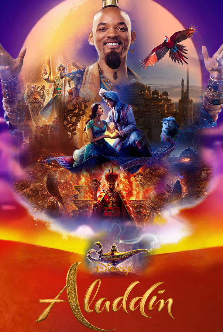Aladdin (2019) Poster by The-Dark-Mamba-995