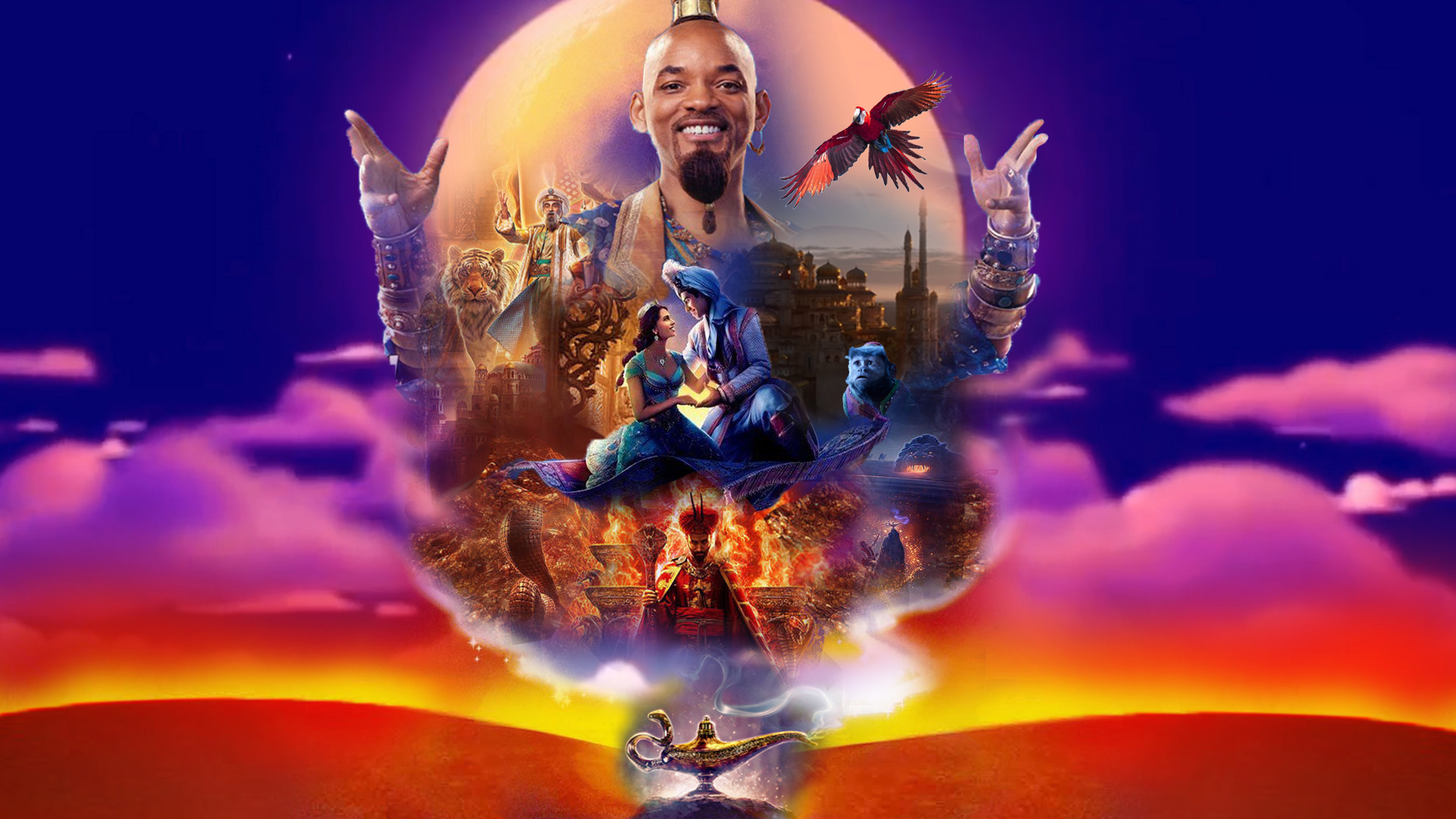 Aladdin (2019) Wallpaper by The-Dark-Mamba-995 on DeviantArt