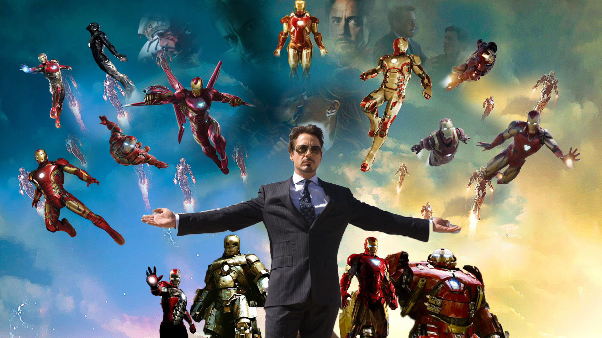 Tony Stark Tribute Wallpaper By The Dark Mamba 995 On Deviantart