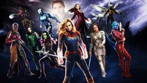 Marvel Ladies Wallpaper