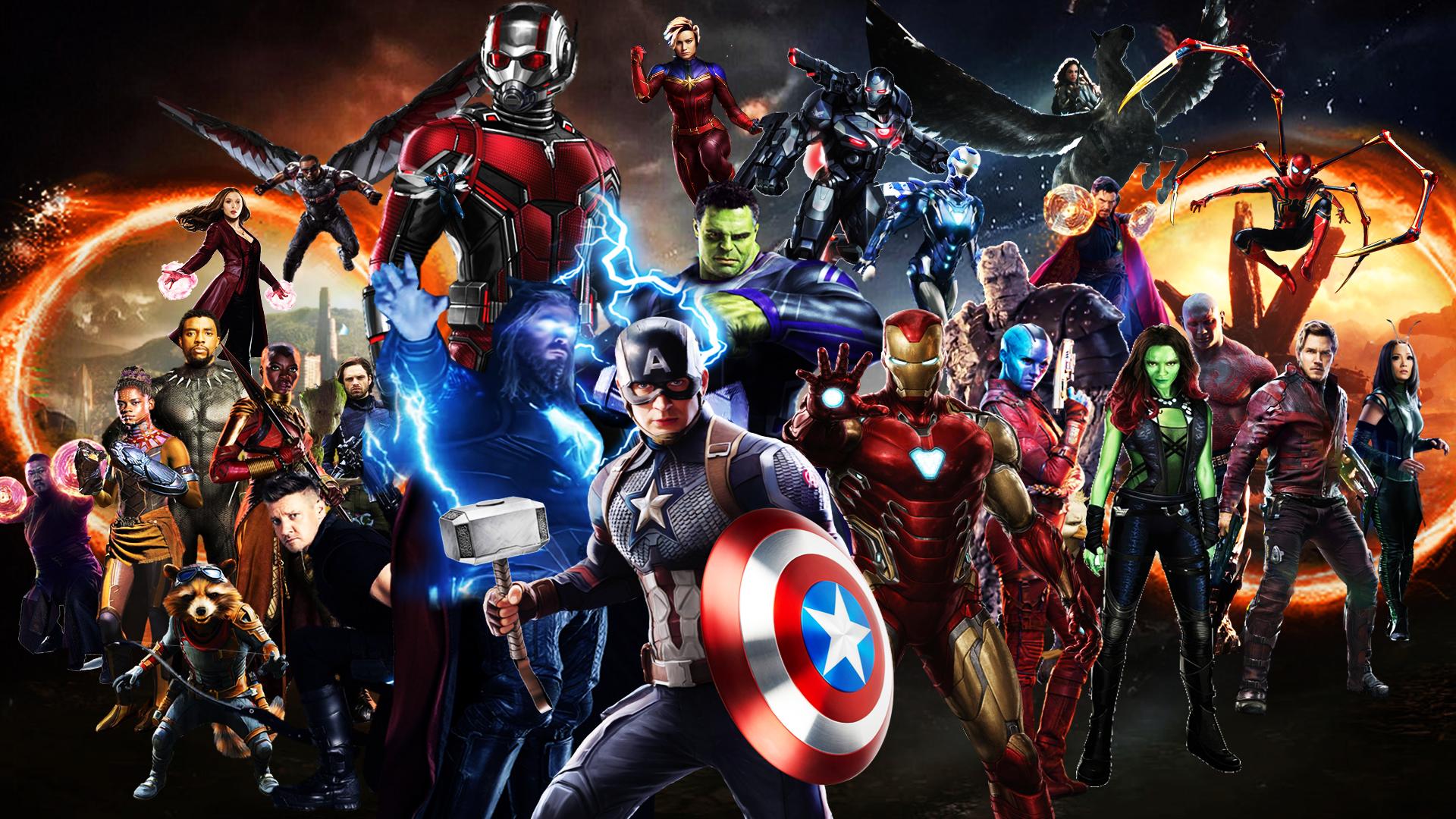Avengers: Endgame Wallpaper - Final Battle by ...