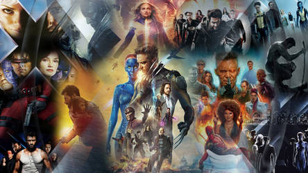 X-Men Saga Wallpaper by The-Dark-Mamba-995