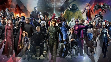 X-Men Saga: Legacy Wallpaper by The-Dark-Mamba-995