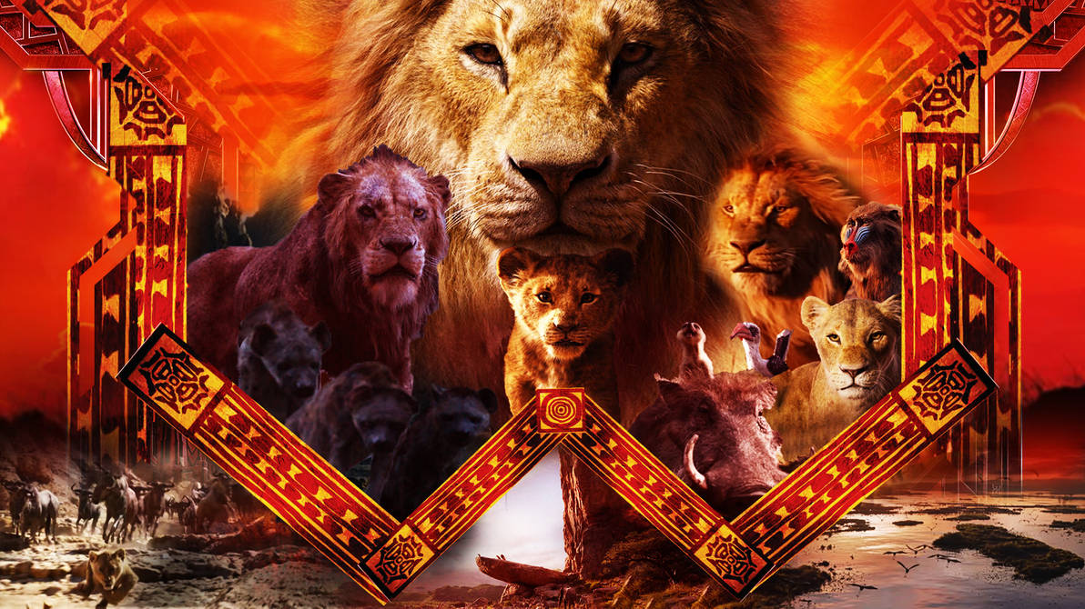 The Lion King (2019) Wallpaper By The-Dark-Mamba-995 On