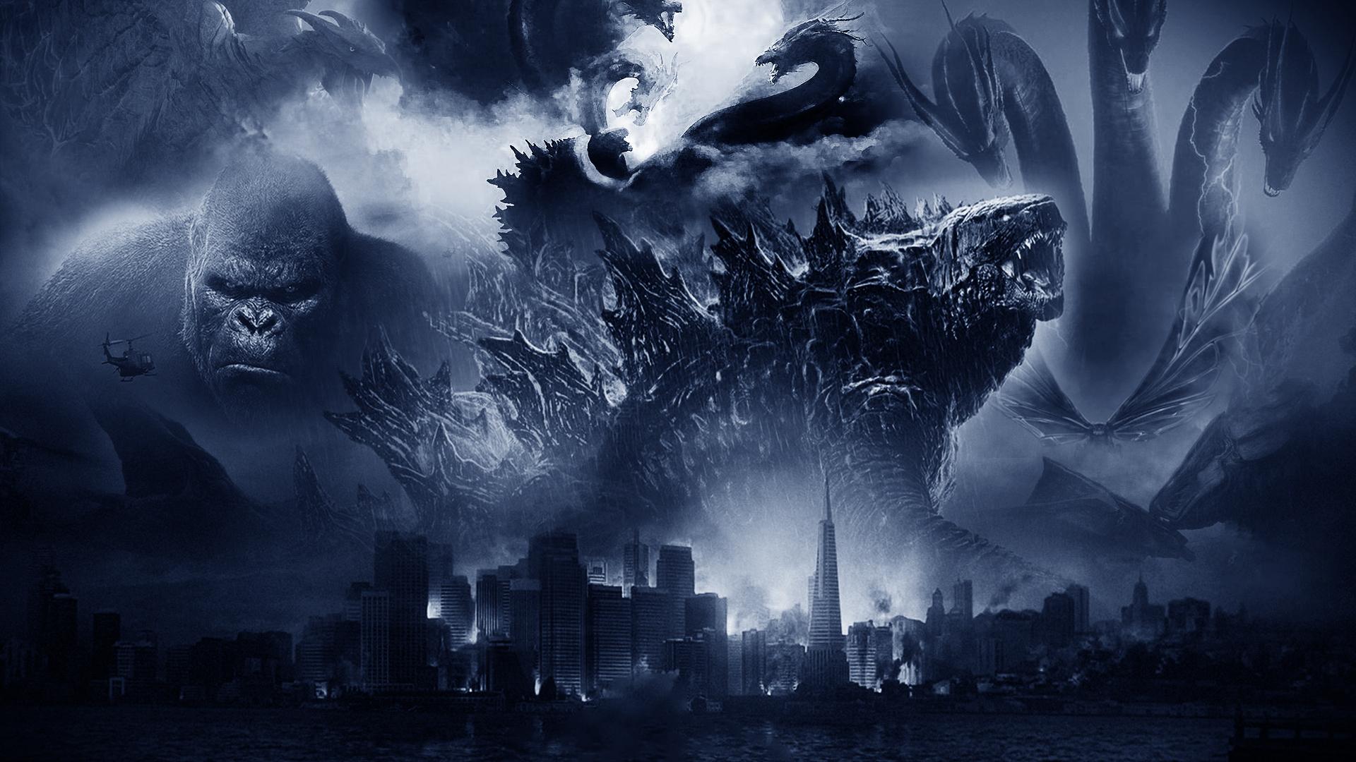 Godzilla Kong Monsterverse Wallpaper By The Dark Mamba 995 On