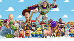 Toy Story - Series Wallpaper