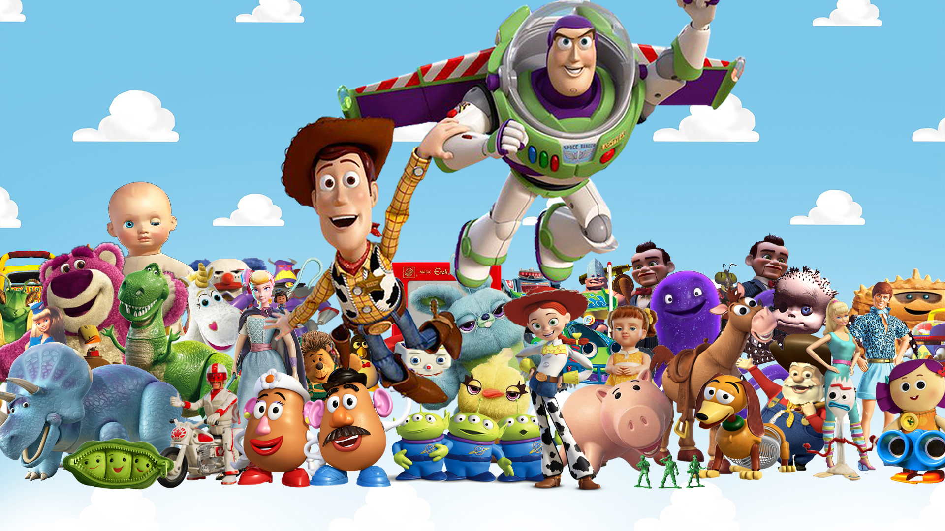 Toy Story - Series Wallpaper by The-Dark-Mamba-995 on ...