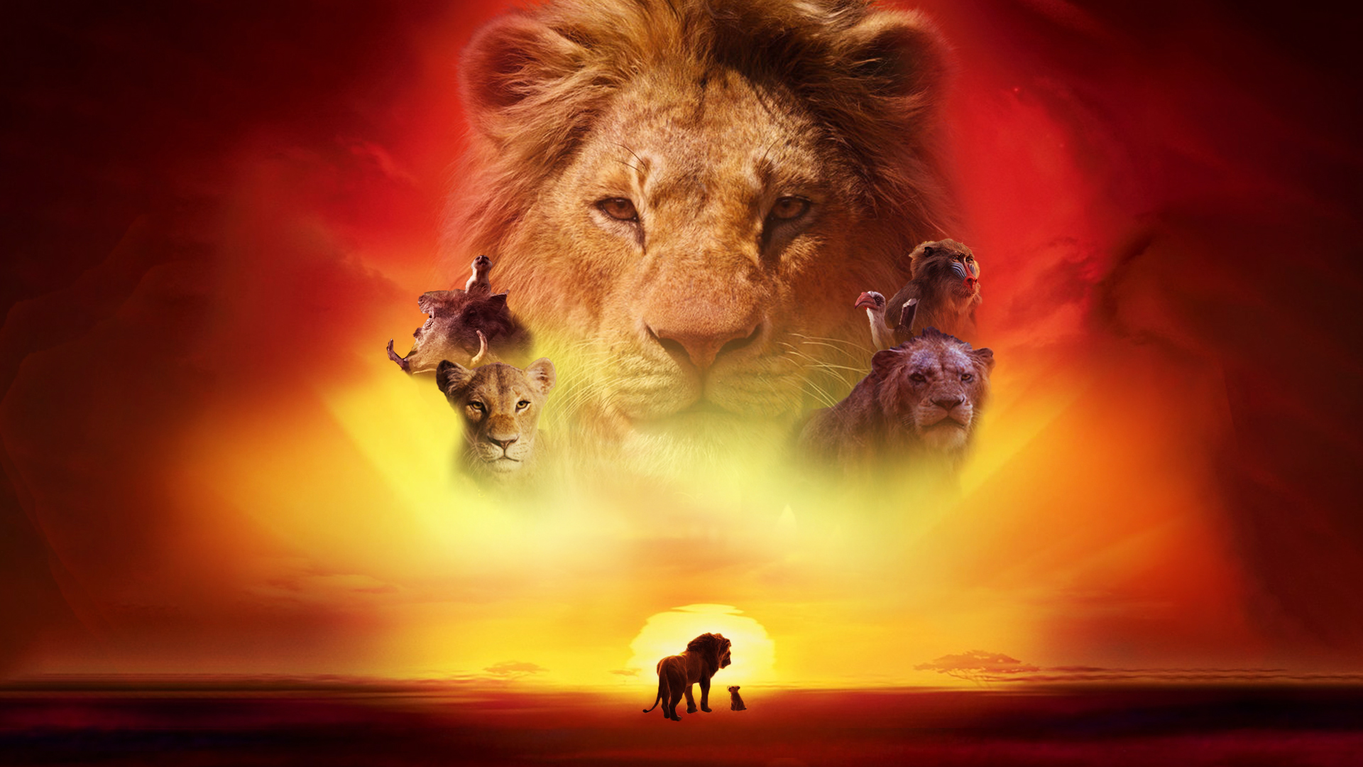 This is a picture of Old Fashioned Lion King Pictures