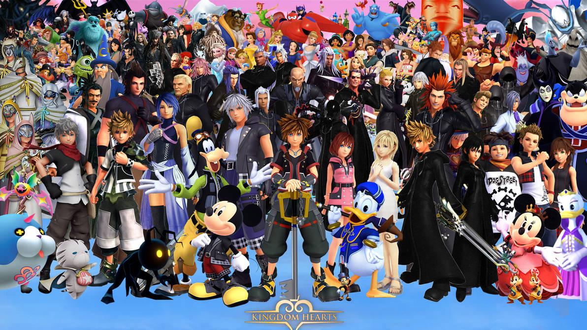 Kingdom Hearts Wallpaper By The Dark Mamba 995 On Deviantart