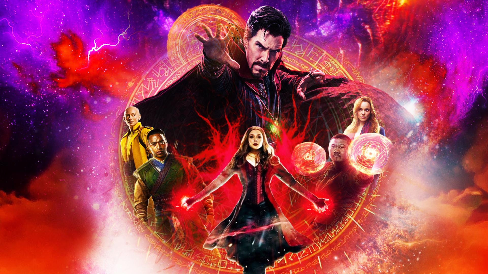 Marvel Doctor Strange Multiverse Zoom Background