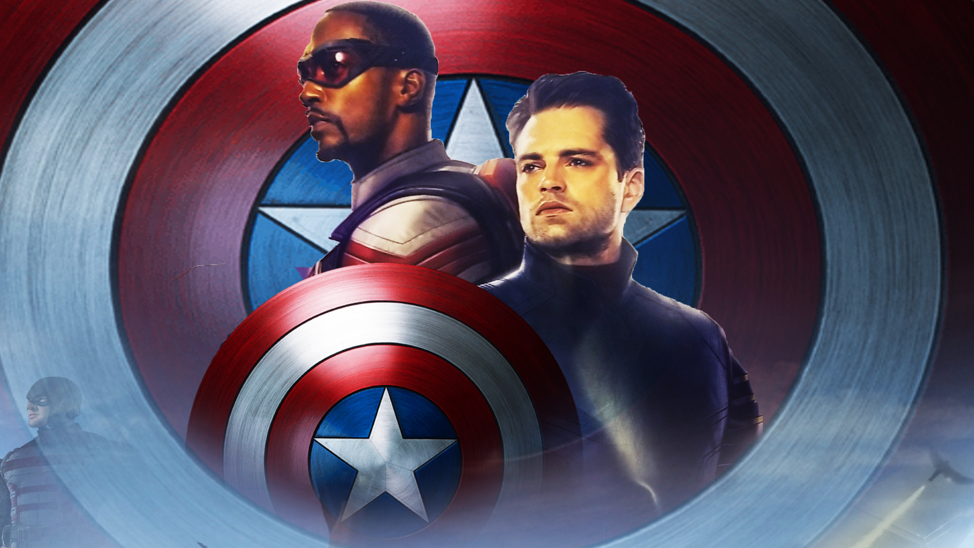 The Falcon And The Winter Soldier Wallpaper By The Dark Mamba 995
