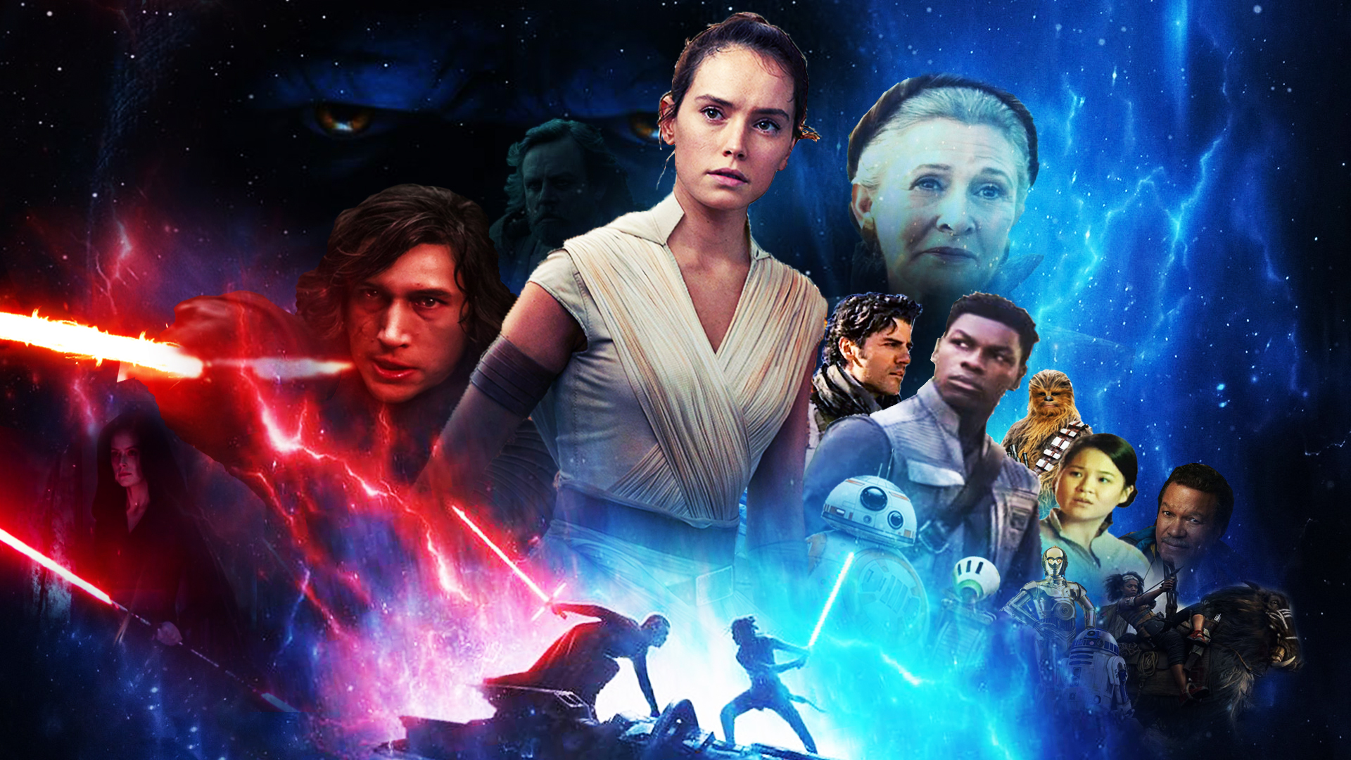 Star Wars The Rise Of Skywalker Wallpaper By The Dark Mamba 995