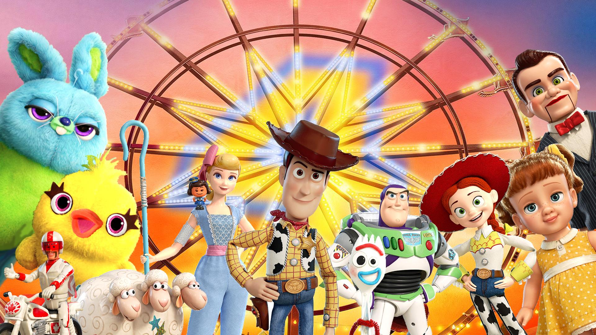 Toy Story 4 Wallpaper by The-Dark-Mamba-995 on DeviantArt
