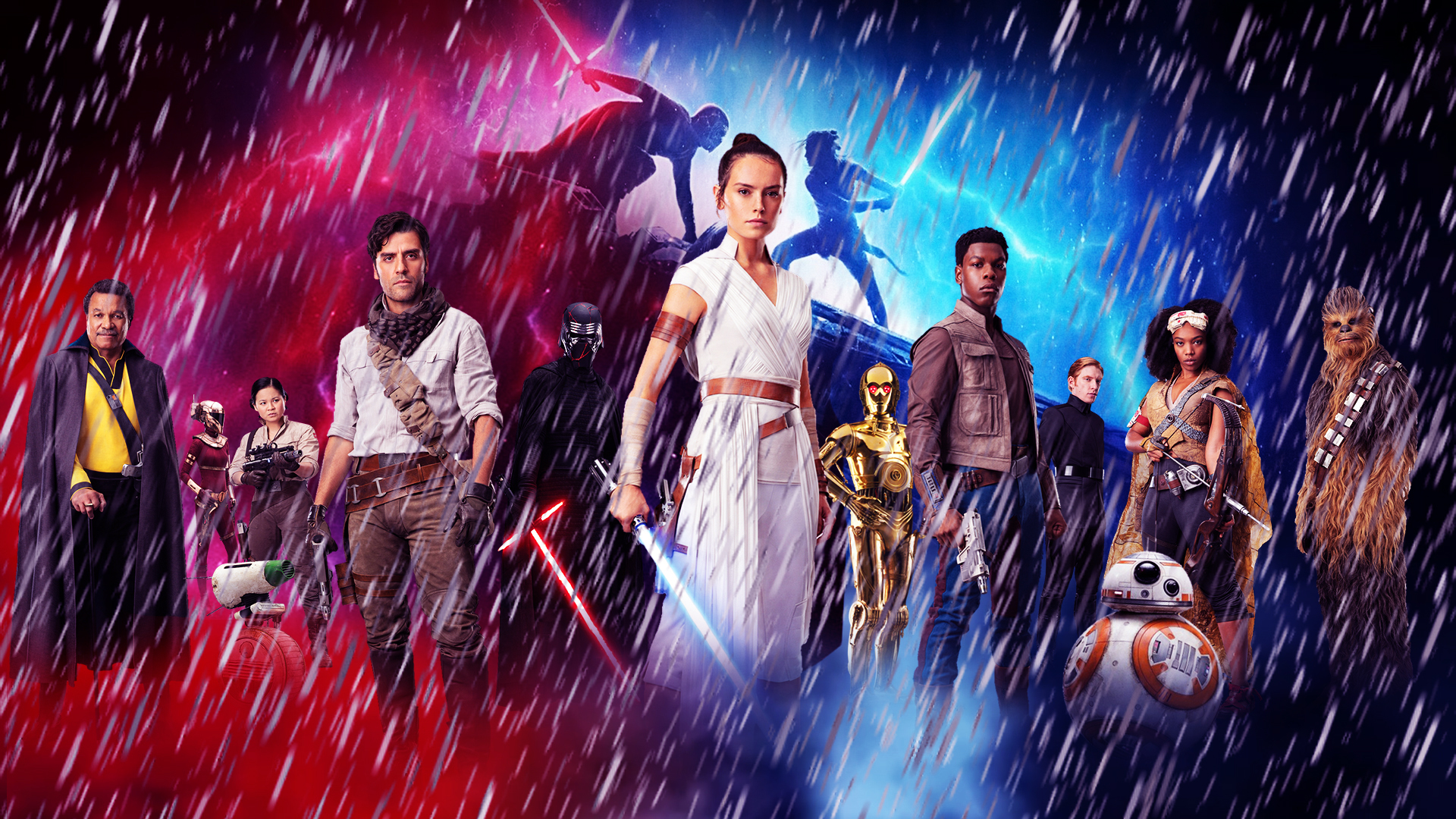 Star Wars: The Rise of Skywalker Wallpaper by The-Dark ...
