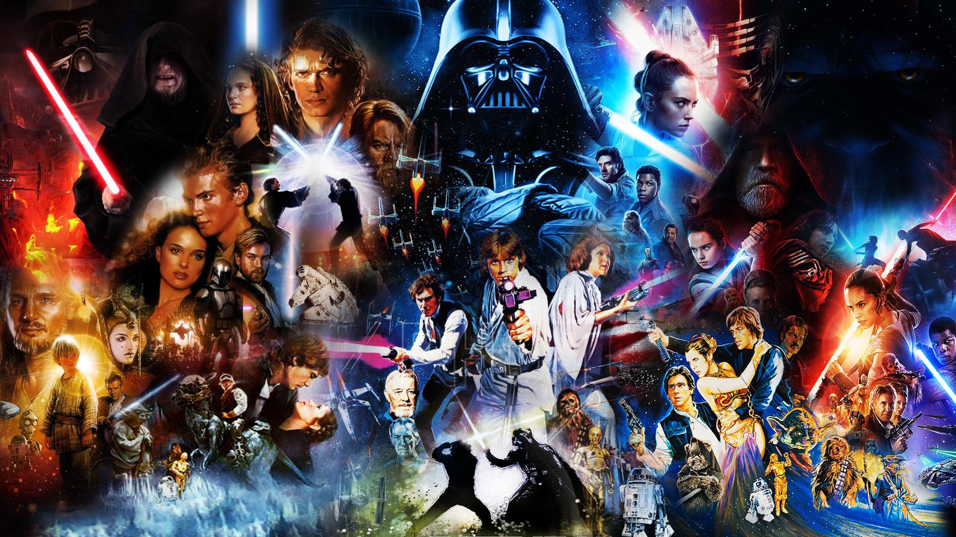 Star Wars Skywalker Saga Wallpaper By Thekingblader995 On Deviantart