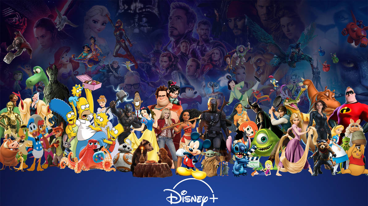 Disney Plus Wallpaper By Thekingblader995 On Deviantart