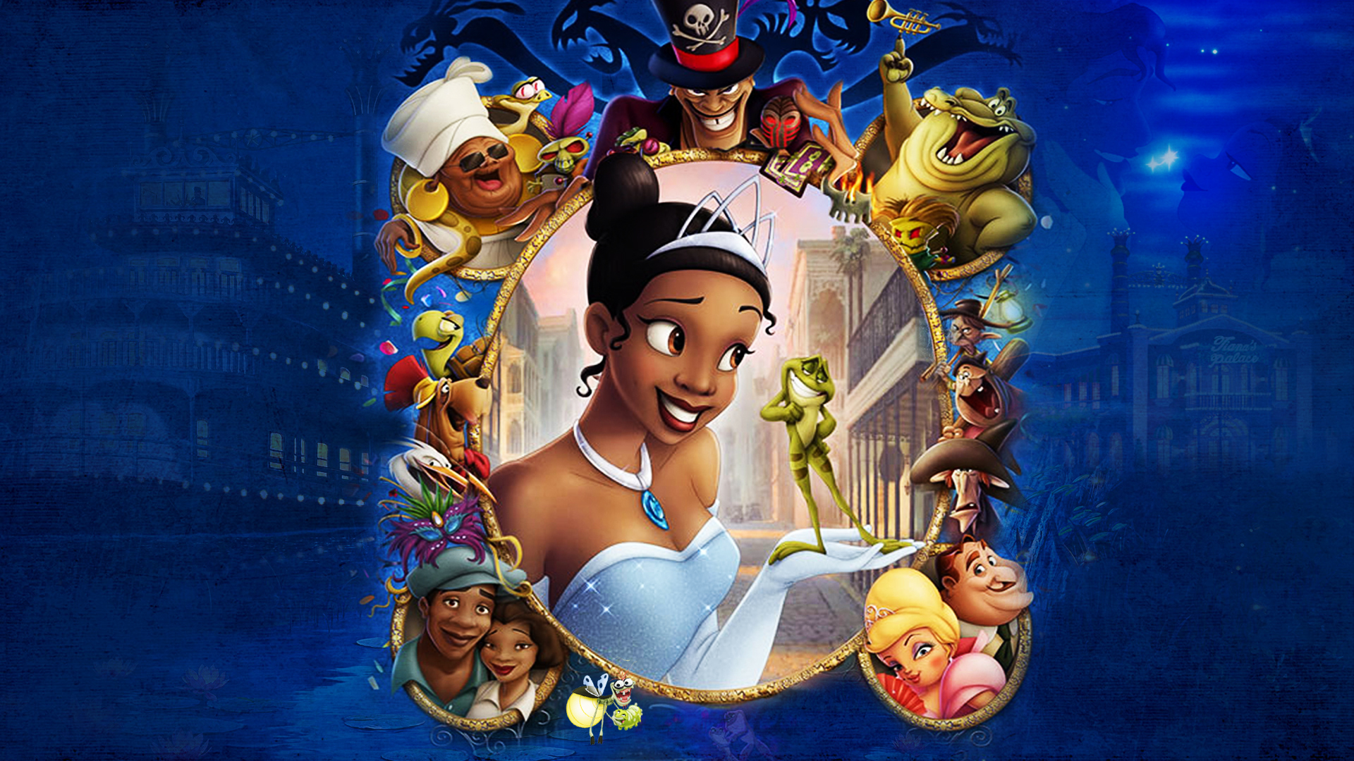 The Princess And The Frog Wallpaper By The Dark Mamba 995 On