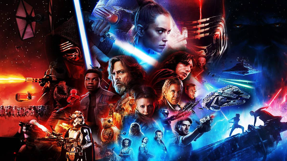 Star Wars Sequel Trilogy Wallpaper By Thekingblader995 On Deviantart