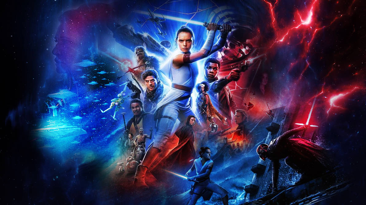 Star Wars The Rise Of Skywalker Wallpaper By Thekingblader995 On Deviantart