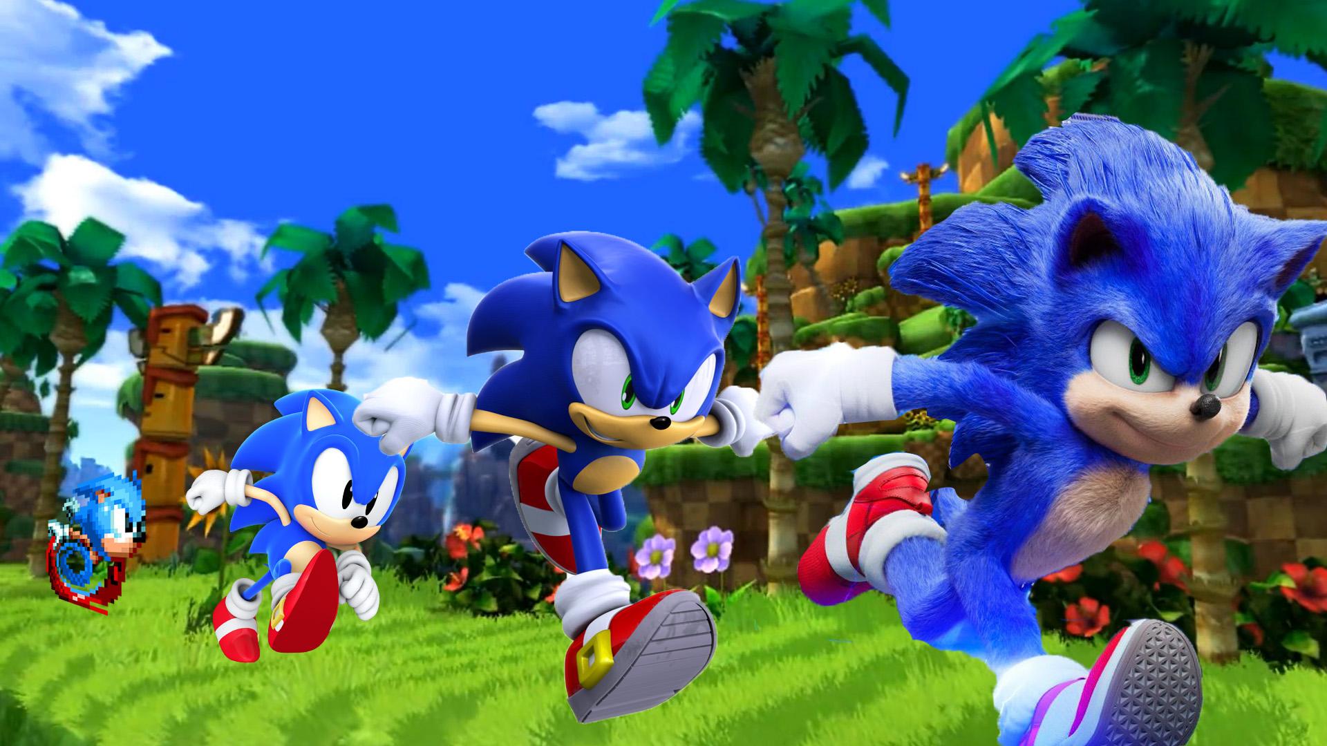 Sonic The Hedgehog Wallpaper By The Dark Mamba 995 On Deviantart