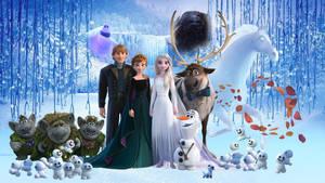 Frozen Family Wallpaper