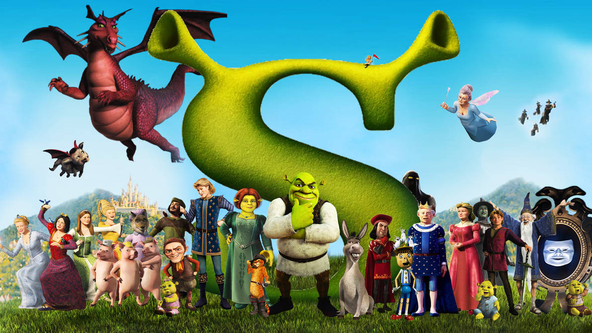 Shrek Wallpaper By Thekingblader995 On Deviantart