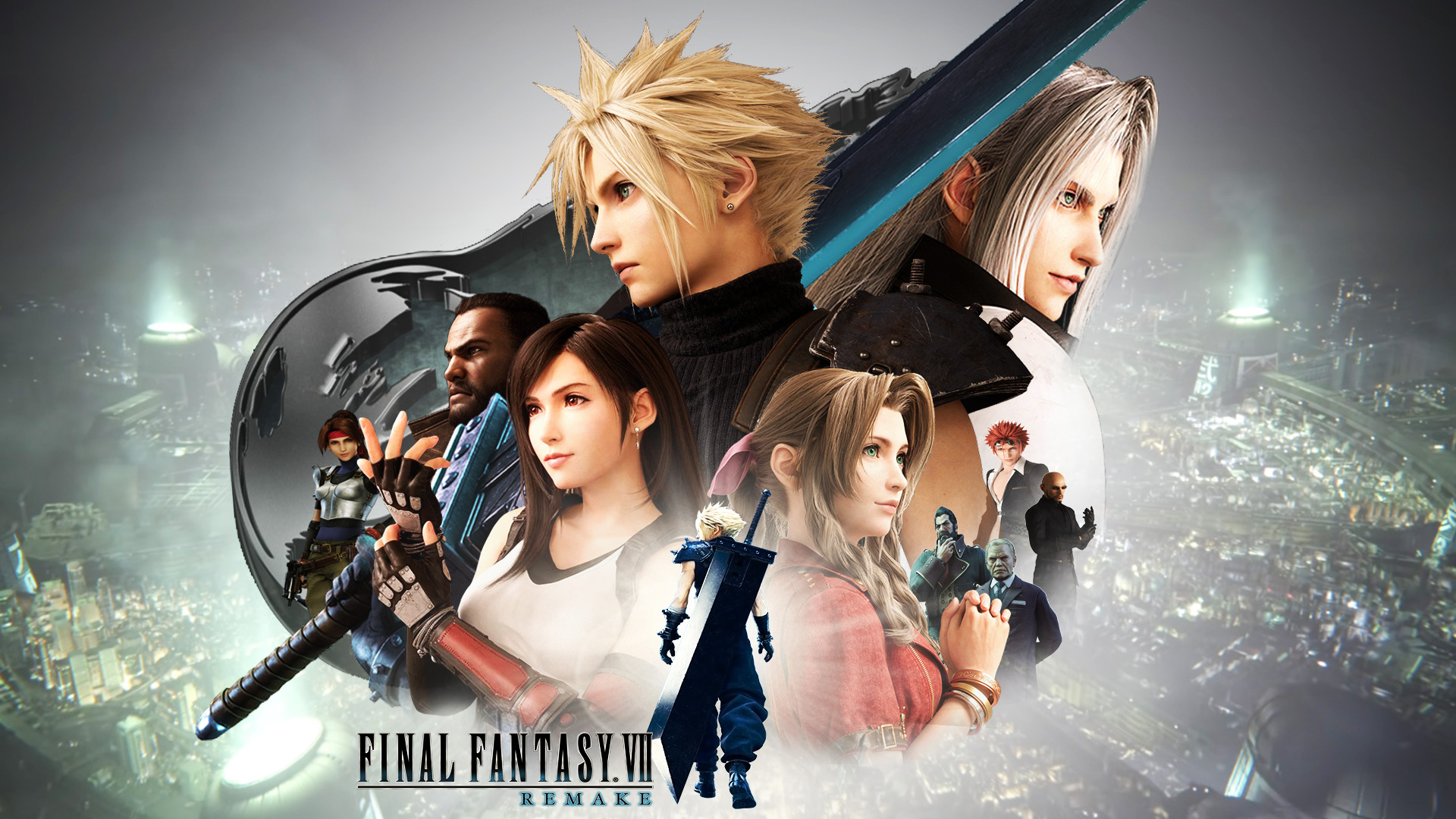 Final Fantasy Vii Remake Wallpaper By The Dark Mamba 995 On Deviantart